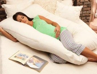 Какими бывают подушки для беременных?